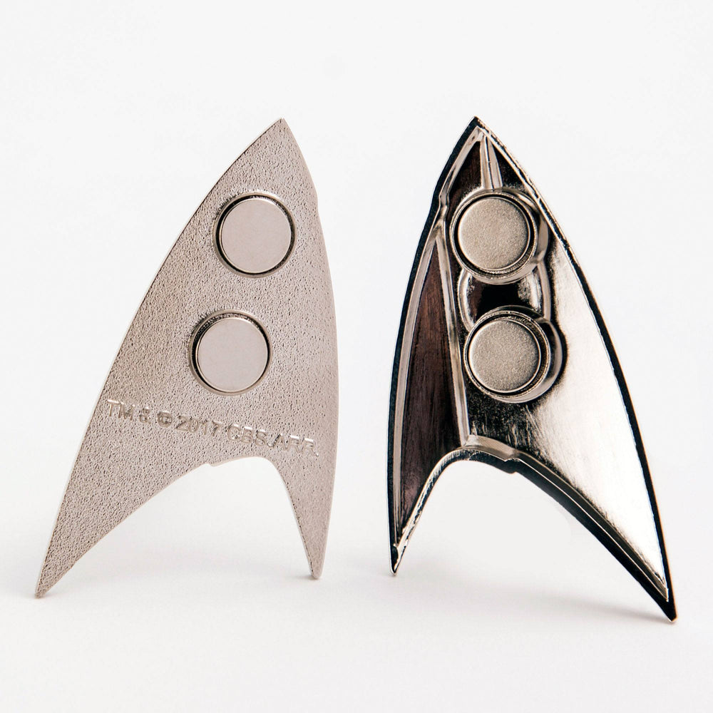 Quantum Mechanix Star Trek Discovery Starfleet Science Division Badge Prop Replica