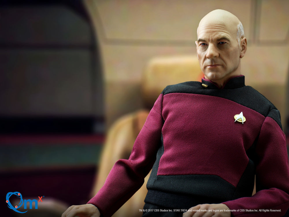 Quantum Mechanix Star Trek TNG Captain Jean-Luc Picard 1/6 Action Figure