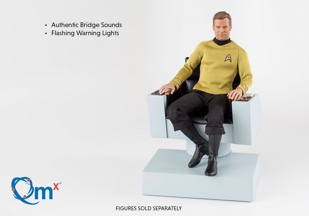 Quantum Mechanix Star Trek TOS Captain's Chair 1/6 Action Figure Accessory
