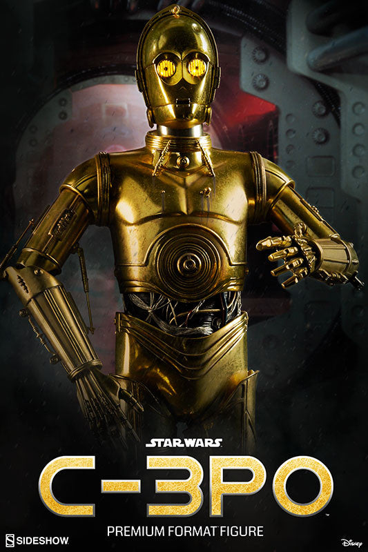 Sideshow Collectibles Star Wars C-3PO Premium Format Figure Statue - Movie Figures - 1