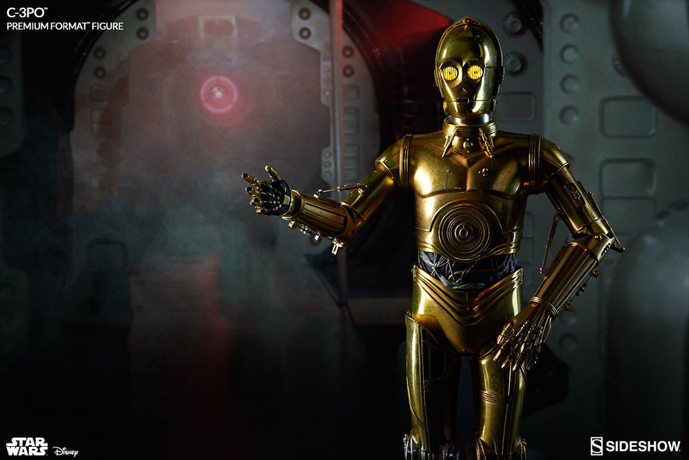 Sideshow Collectibles Star Wars C-3PO Premium Format Figure Statue - Movie Figures - 2