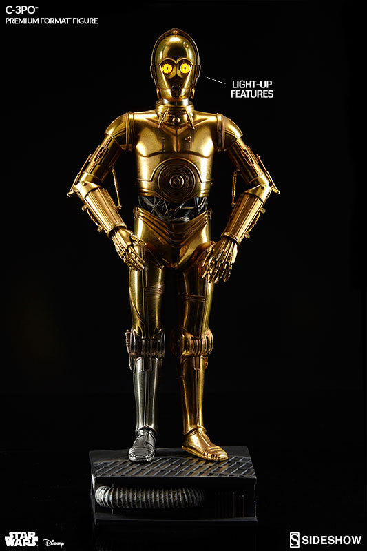 Sideshow Collectibles Star Wars C-3PO Premium Format Figure Statue - Movie Figures - 3