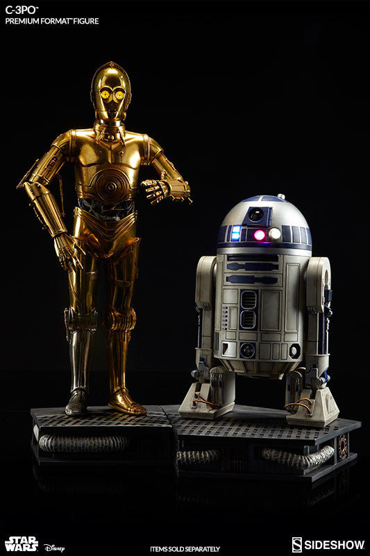 Sideshow Collectibles Star Wars C-3PO Premium Format Figure Statue - Movie Figures - 5