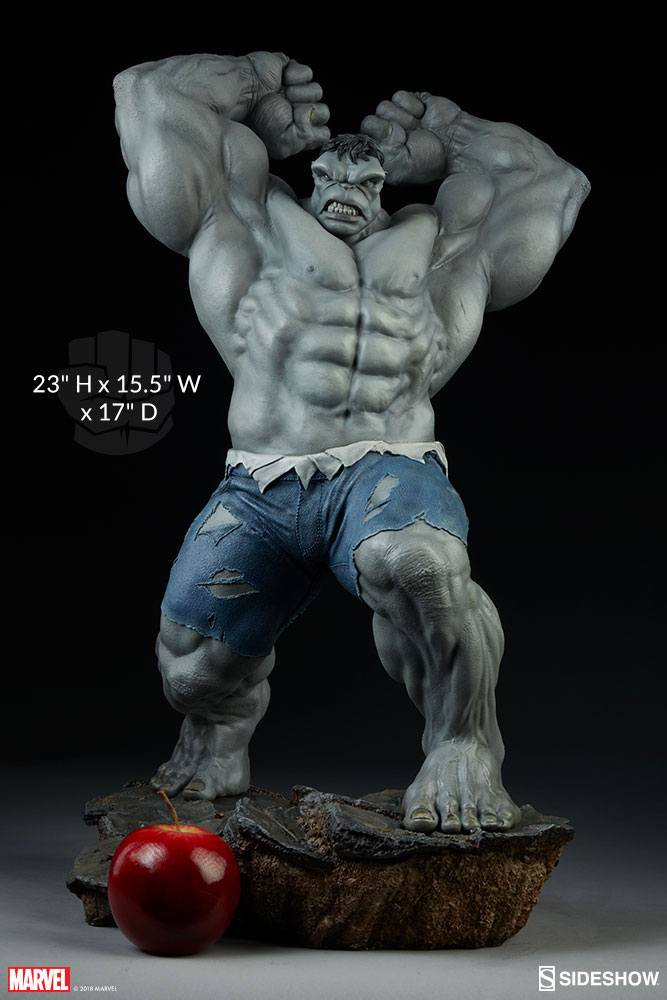 Sideshow Collectibles Avengers Assemble Grey Hulk (Exclusive) 1/5 Statue