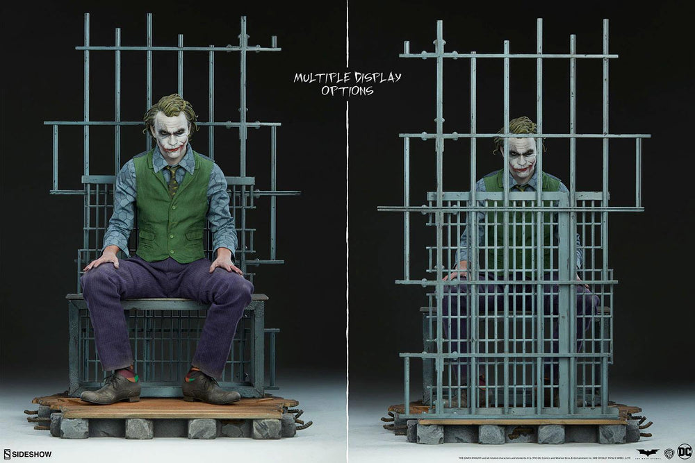 Sideshow Collectibles Batman The Dark Knight The Joker Premium Format Statue