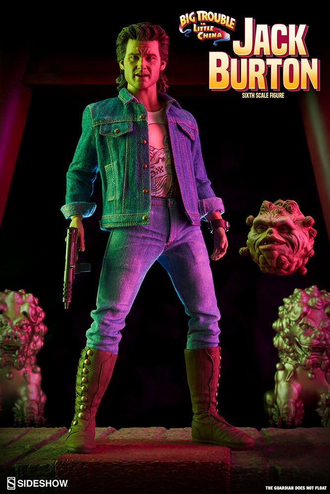 Sideshow Collectibles Big Trouble in Little China Jack Burton 1/6 Action Figure