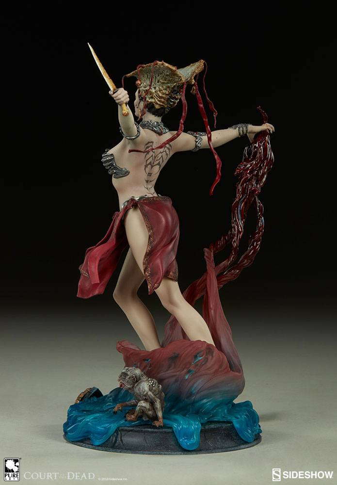 Sideshow Collectibles Court of the Dead Gethsemoni - Queens Conjuring Prestige Statuette