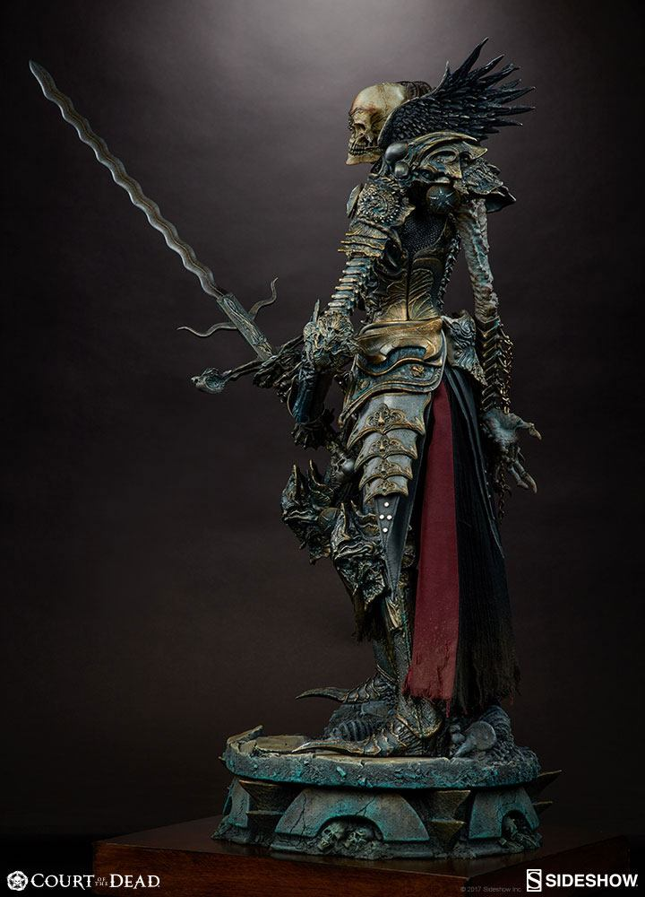 Sideshow Collectibles Court of the Dead Mortighull Risen Reaper General Premium Format Figure 1/4 Statue