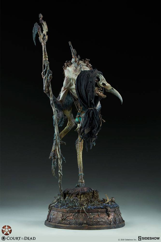 Sideshow Collectibles Court of the Dead Poxxil the Scourge Premium Format Figure 1/4 Statue