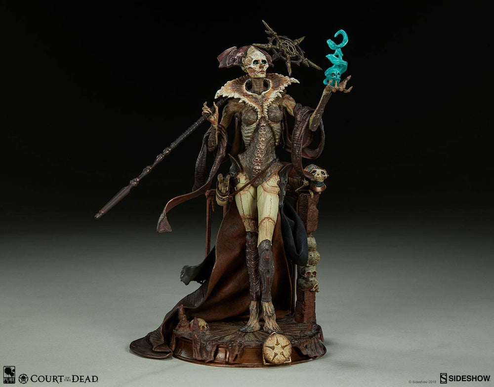 Sideshow Collectibles Court of the Dead Xiall - Osteomancers Vision Prestige Statuette