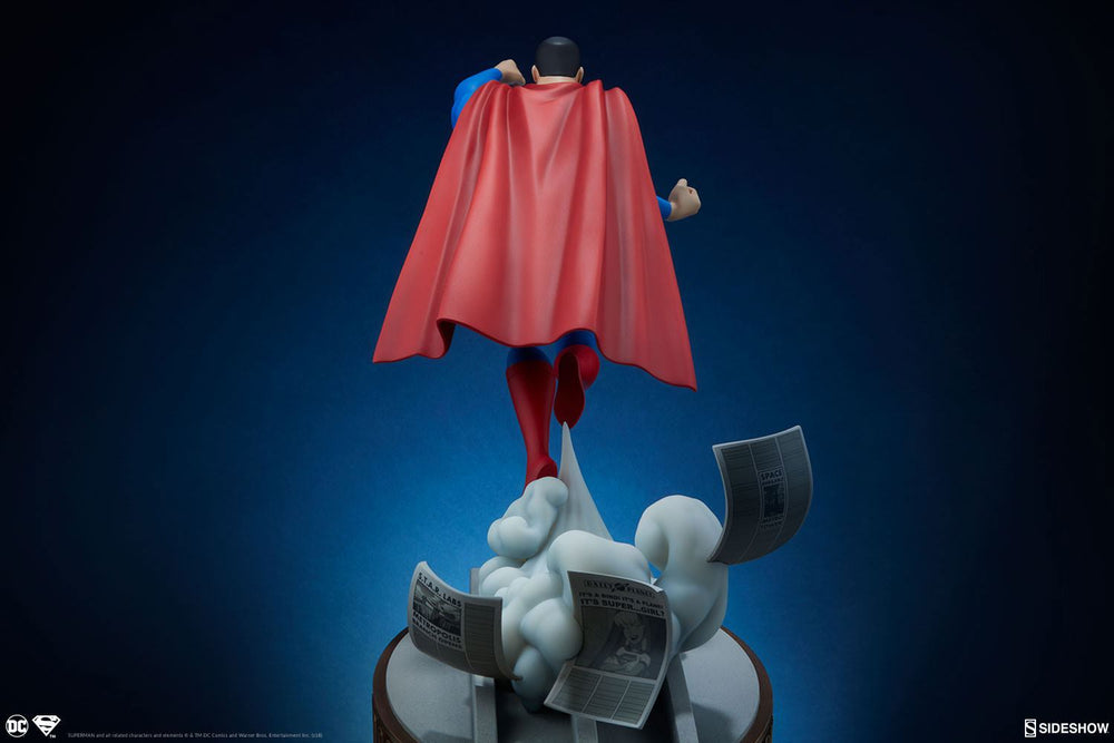 Sideshow Collectibles DC Animated Series Collection Superman Statue