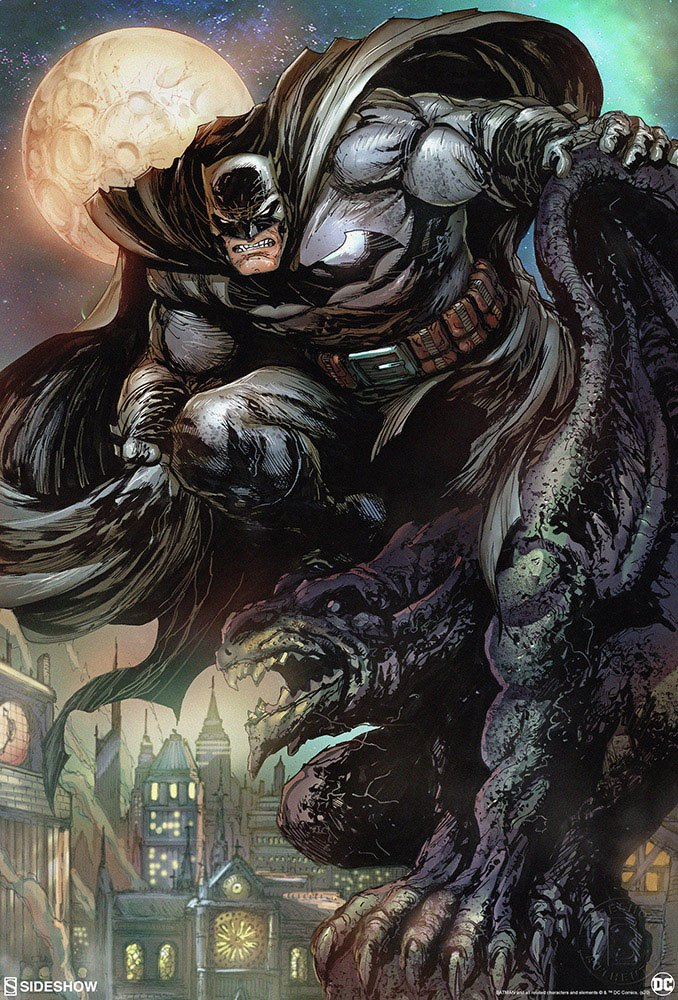 Sideshow Collectibles DC Comics Batman: The Dark Knight Art Print