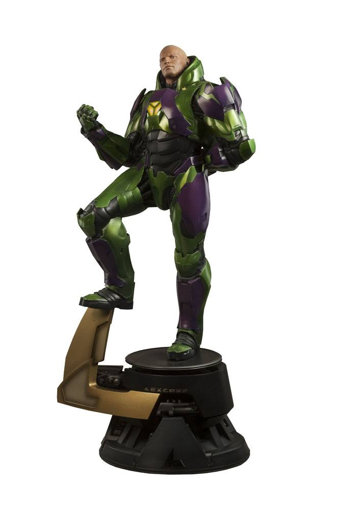Sideshow Collectibles DC Comics Lex Luthor Power Suit Premium Format Figure 1/4 Statue