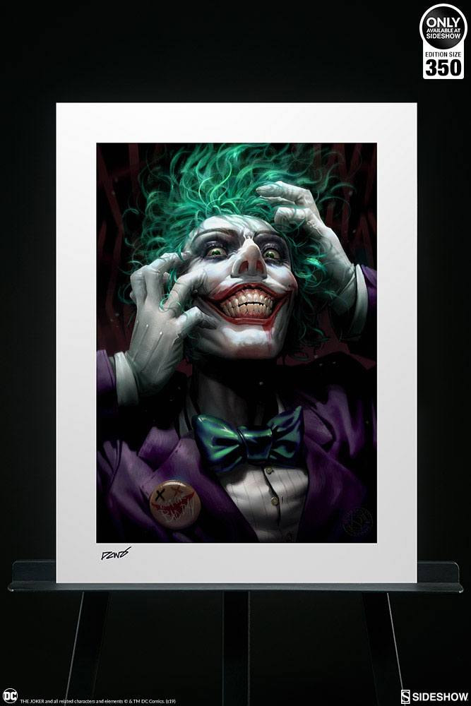 Sideshow Collectibles DC Comics The Joker: Just One Bad Day by Derrick Chew Art Print