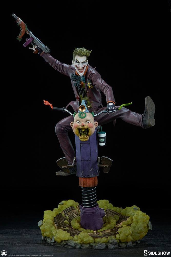 Sideshow Collectibles DC Comics The Joker Premium Format Figure 1/4 Statue