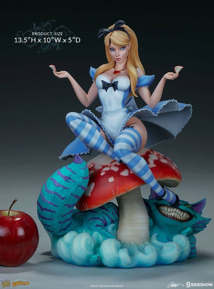 Sideshow Collectibles Fairytale Fantasies Collection Alice in Wonderland Statue