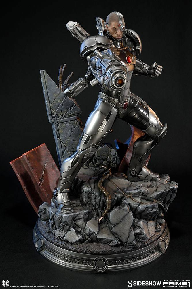 Sideshow Collectibles Justice League New 52 Cyborg Statue