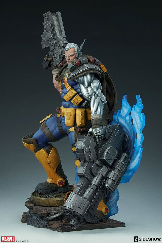 Sideshow Collectibles Marvel Cable Premium Format Statue