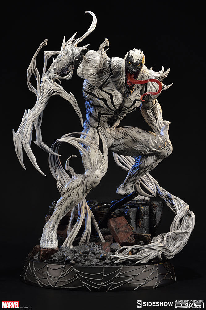 Sideshow Collectibles Marvel Comics Anti-Venom Statue - Movie Figures - 6