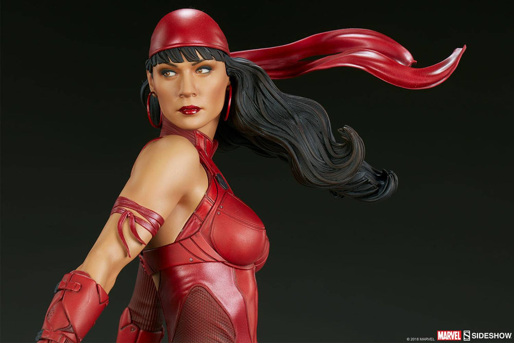 Sideshow Collectibles Marvel Comics Elektra Premium Format Figure 1/4 Statue