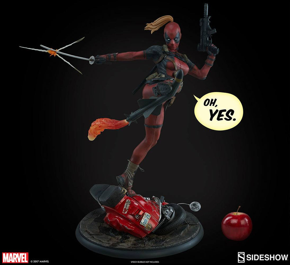 Sideshow Collectibles Marvel Comics Lady Deadpool Premium Format Figure 1/4 Statue