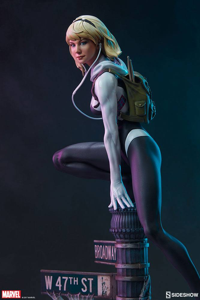 Sideshow Collectibles Marvel Comics Spider-Gwen Mark Brooks Artist Series Statue