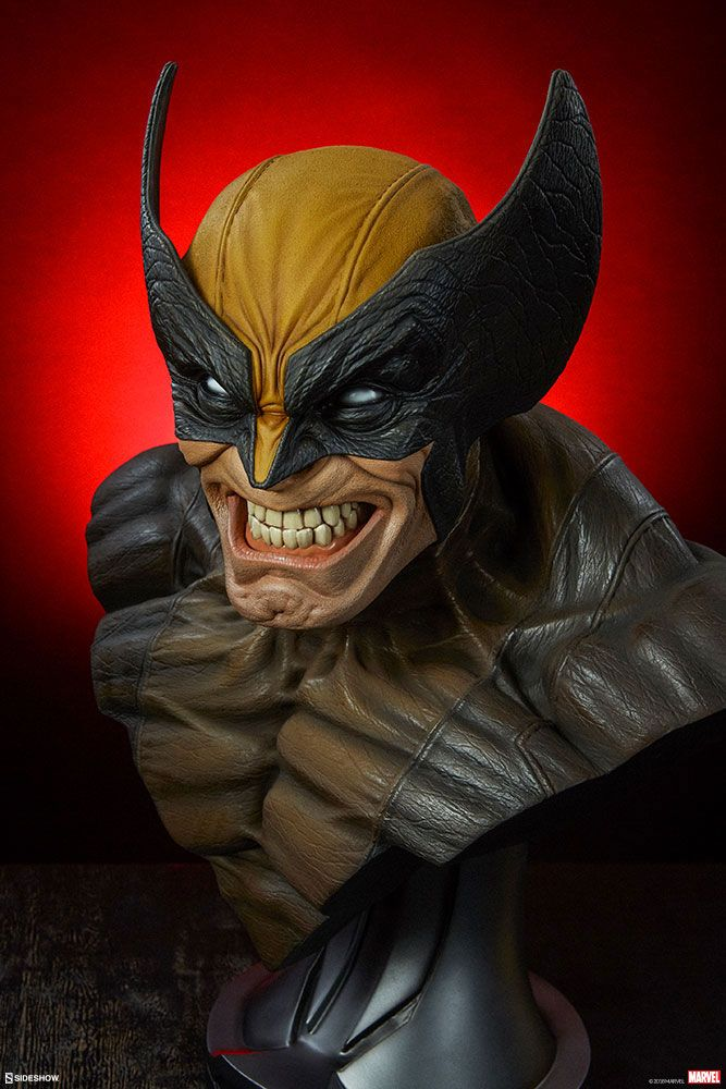 Sideshow Collectibles Marvel Comics Wolverine 1/1 Bust Statue