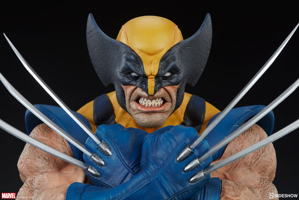 Sideshow Collectibles Marvel Comics Wolverine Bust