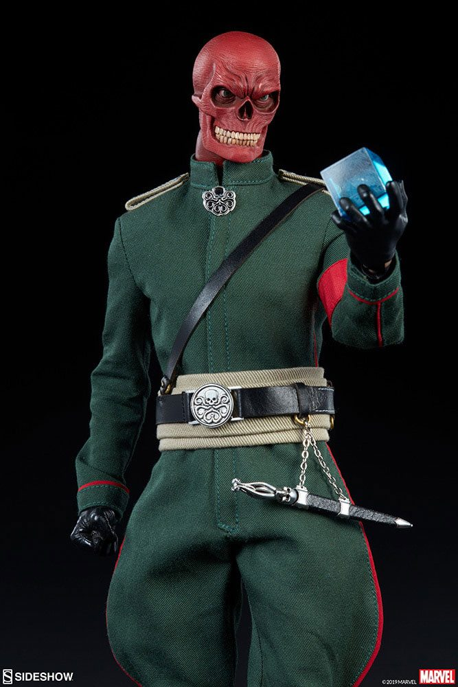 Sideshow Collectibles Marvel Red Skull 1/6 Action Figure