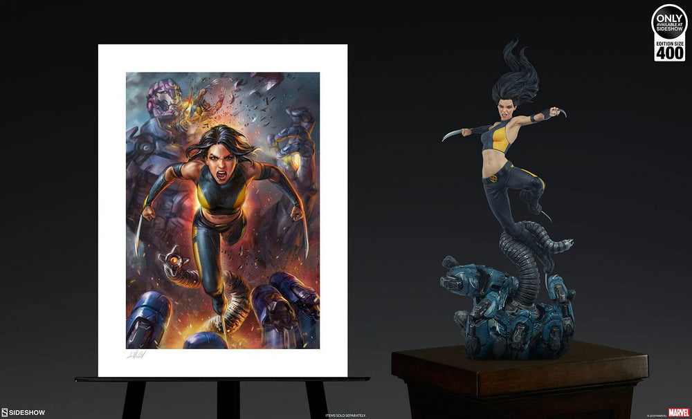 Sideshow Collectibles Marvel X-23 by Ian MacDonald Art Print