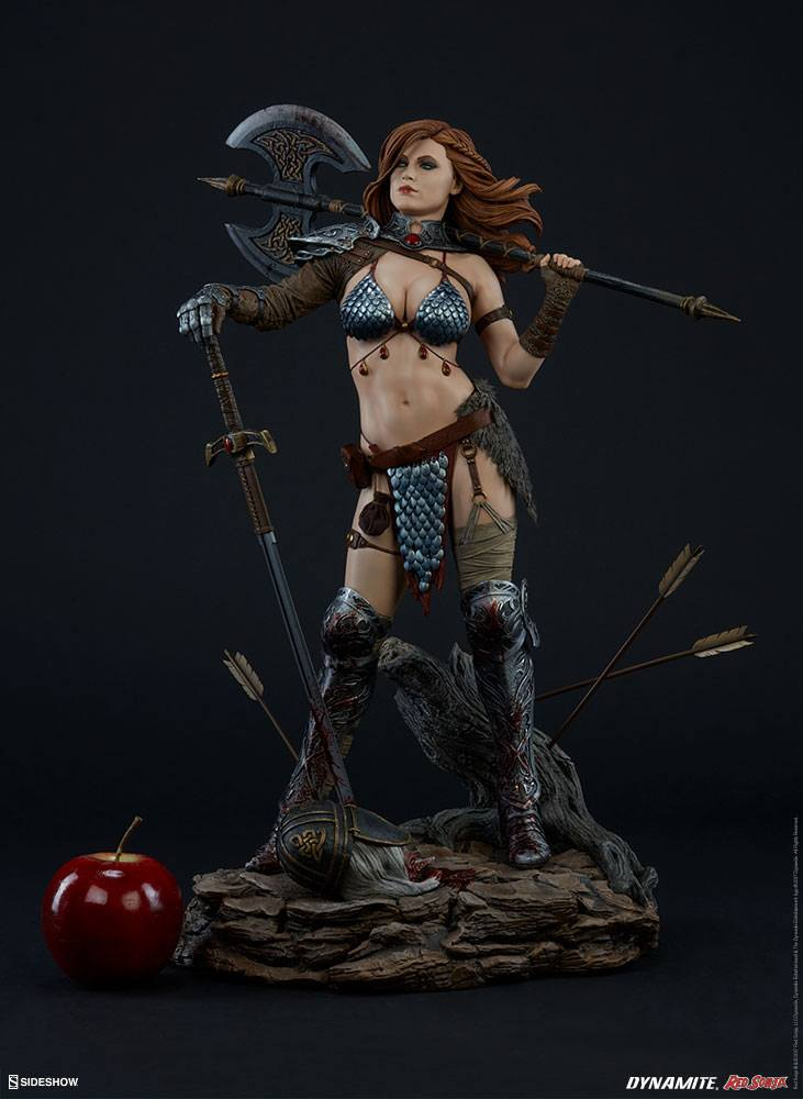 Sideshow Collectibles Red Sonja Queen of Scavengers Premium Format Figure 1/4 Statue