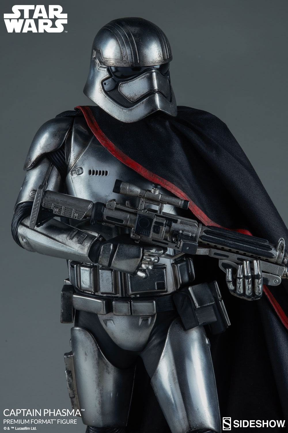 Sideshow Collectibles Star Wars Captain Phasma Premium Format Figure 1/4 Statue