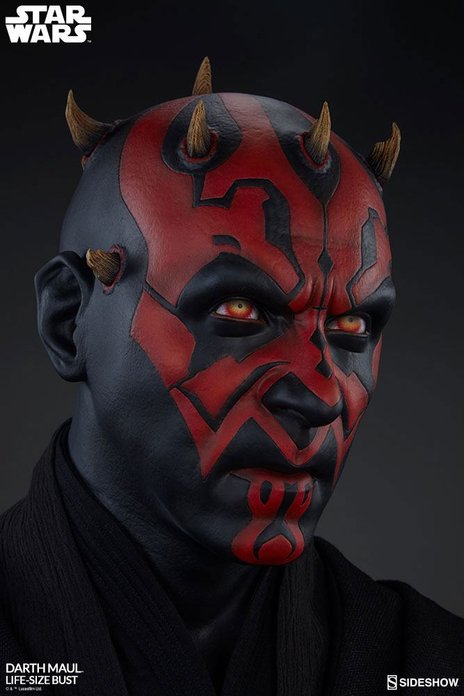 Sideshow Collectibles Star Wars Darth Maul 1/1 Bust Statue