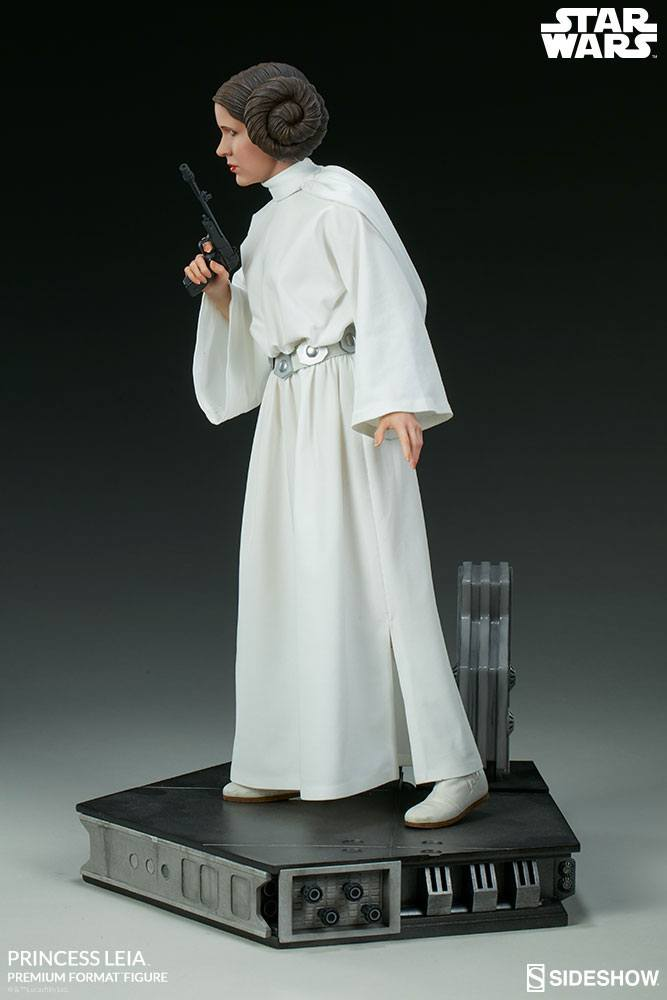 Sideshow Collectibles Star Wars Episode IV Princess Leia Premium Format Figure 1/4 Statue