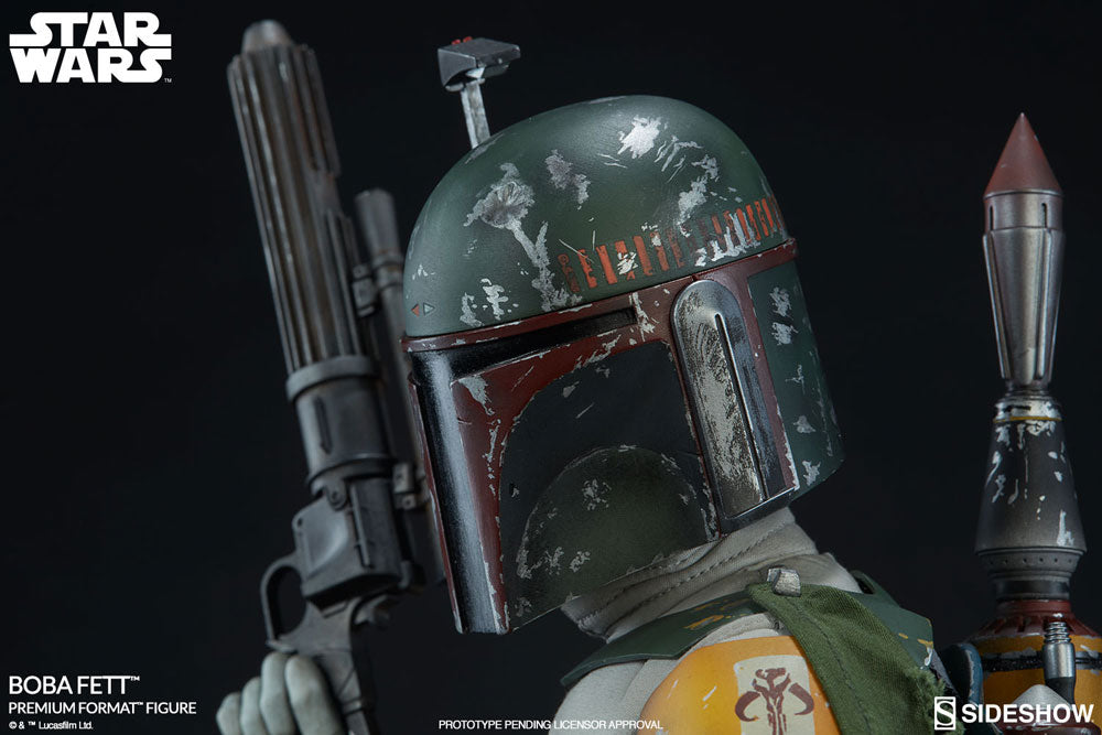 Sideshow Collectibles Star Wars Episode VI Boba Fett Premium Format Figure 1/4 Statue