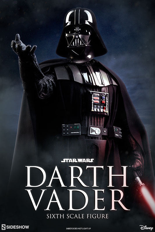 Sideshow Collectibles Star Wars Episode VI Darth Vader 1/6 Action Figure - Movie Figures - 11