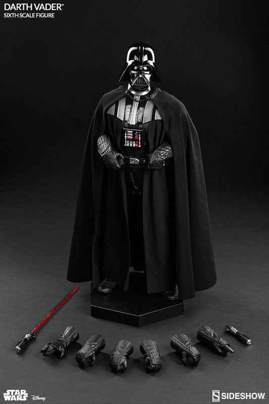 Sideshow Collectibles Star Wars Episode VI Darth Vader 1/6 Action Figure - Movie Figures - 5