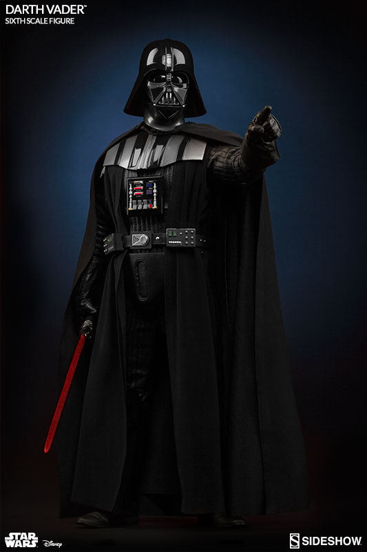 Sideshow Collectibles Star Wars Episode VI Darth Vader 1/6 Action Figure - Movie Figures - 6