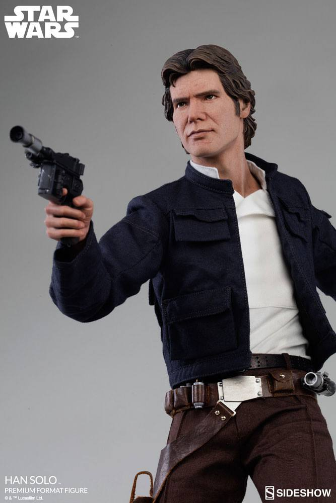 Sideshow Collectibles Star Wars Episode V Han Solo Premium Format Figure 1/4 Statue
