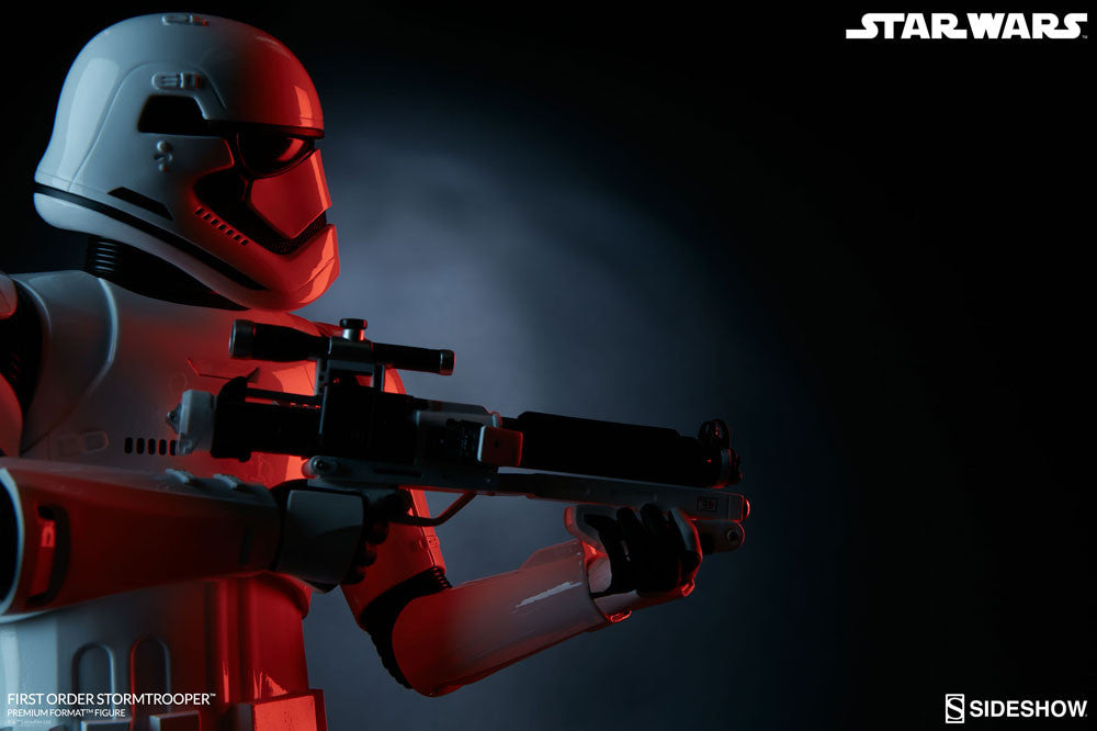 Sideshow Collectibles Star Wars First Order StormTrooper Premium Format Figure Statue - Movie Figures - 13