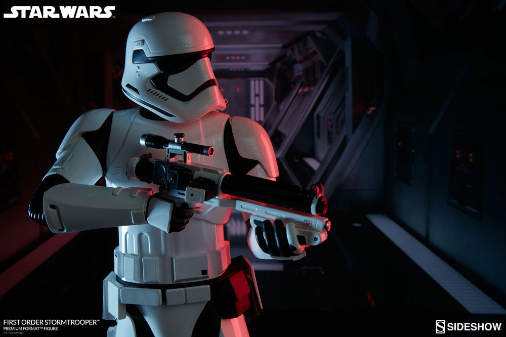 Sideshow Collectibles Star Wars First Order StormTrooper Premium Format Figure Statue - Movie Figures - 3