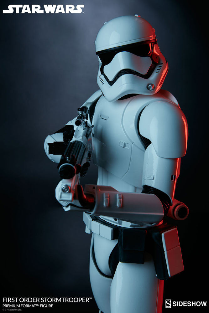 Sideshow Collectibles Star Wars First Order StormTrooper Premium Format Figure Statue - Movie Figures - 5