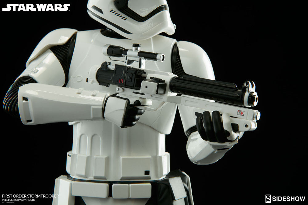 Sideshow Collectibles Star Wars First Order StormTrooper Premium Format Figure Statue - Movie Figures - 9