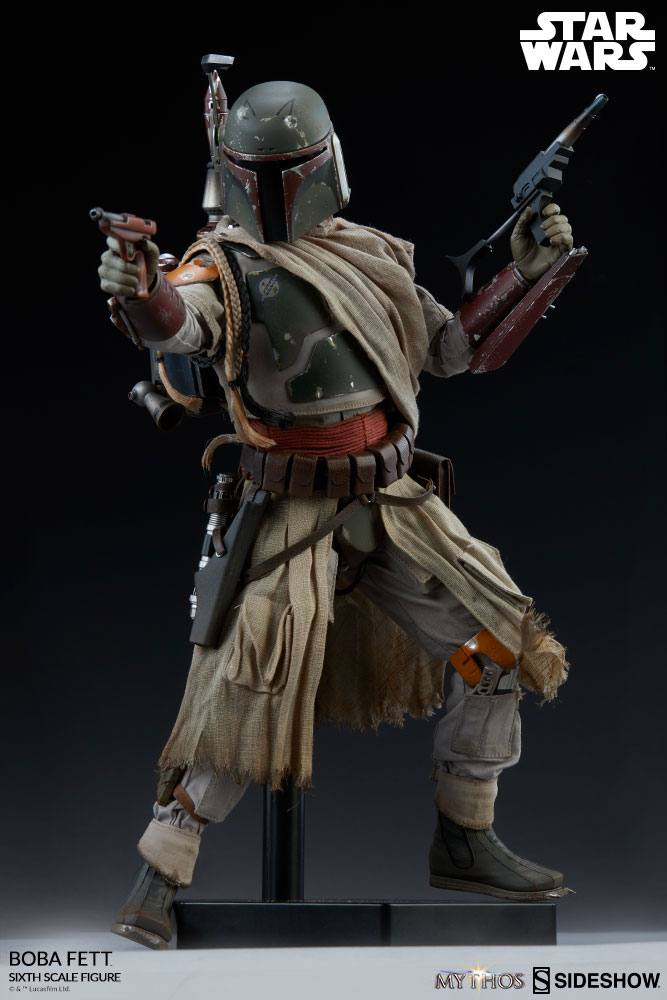 Sideshow Collectibles Star Wars Mythos Boba Fett 1/6 Action Figure