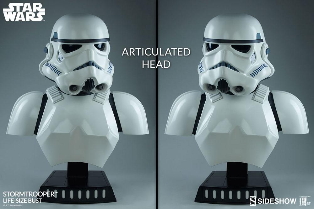 Sideshow Collectibles Star Wars Stormtrooper 1/1 Bust Statue