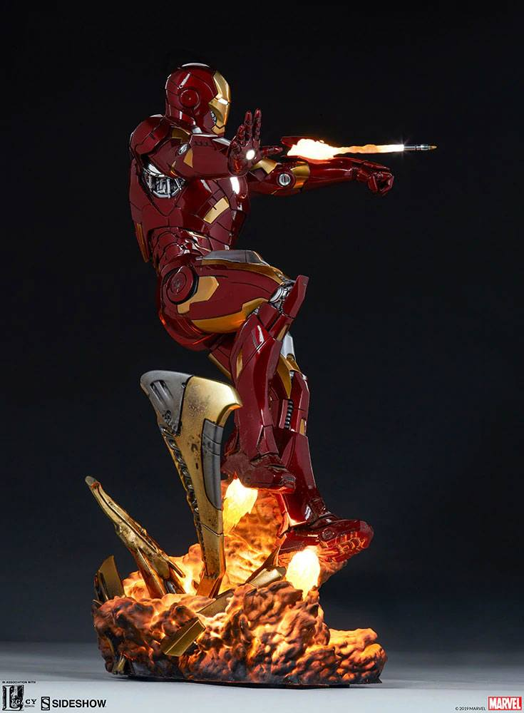 Sideshow Collectibles The Avengers Iron Man Mark VII Maquette