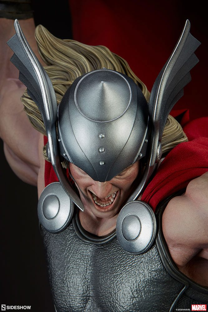 Sideshow Collectibles Thor: Breaker of Brimstone Premium Format Figure 1/4 Statue