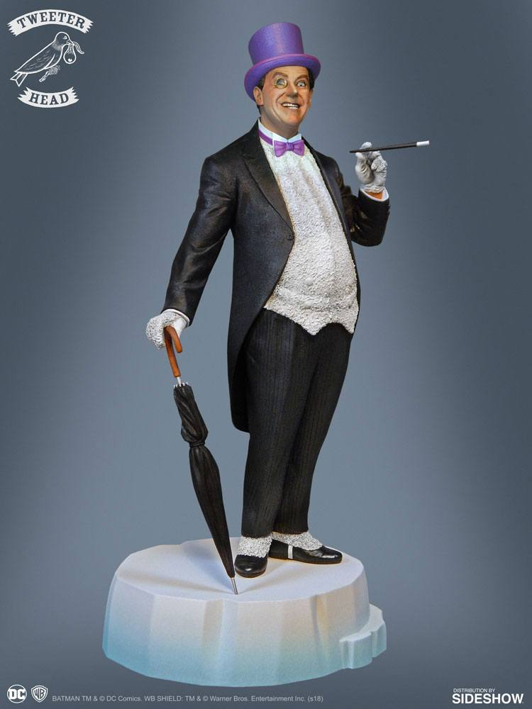 Sideshow Collectibles Tweeterhead Batman Classics Collection Penguin Maquette Statue