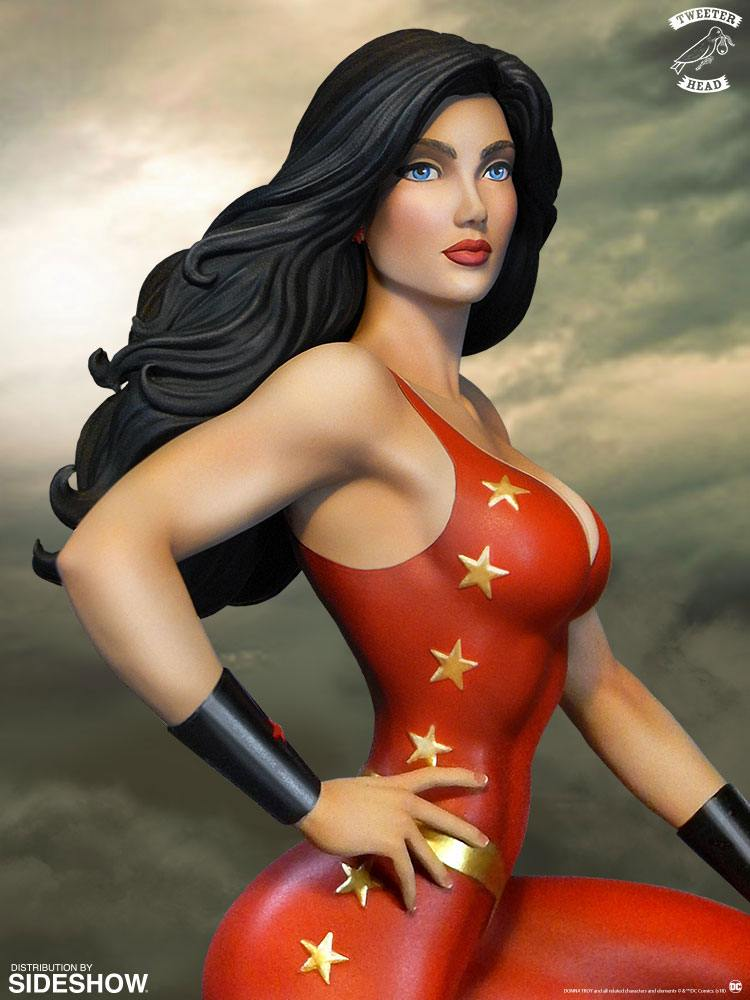 Sideshow Collectibles Tweeterhead DC Comic Super Powers Collection Donna Troy Maquette Statue
