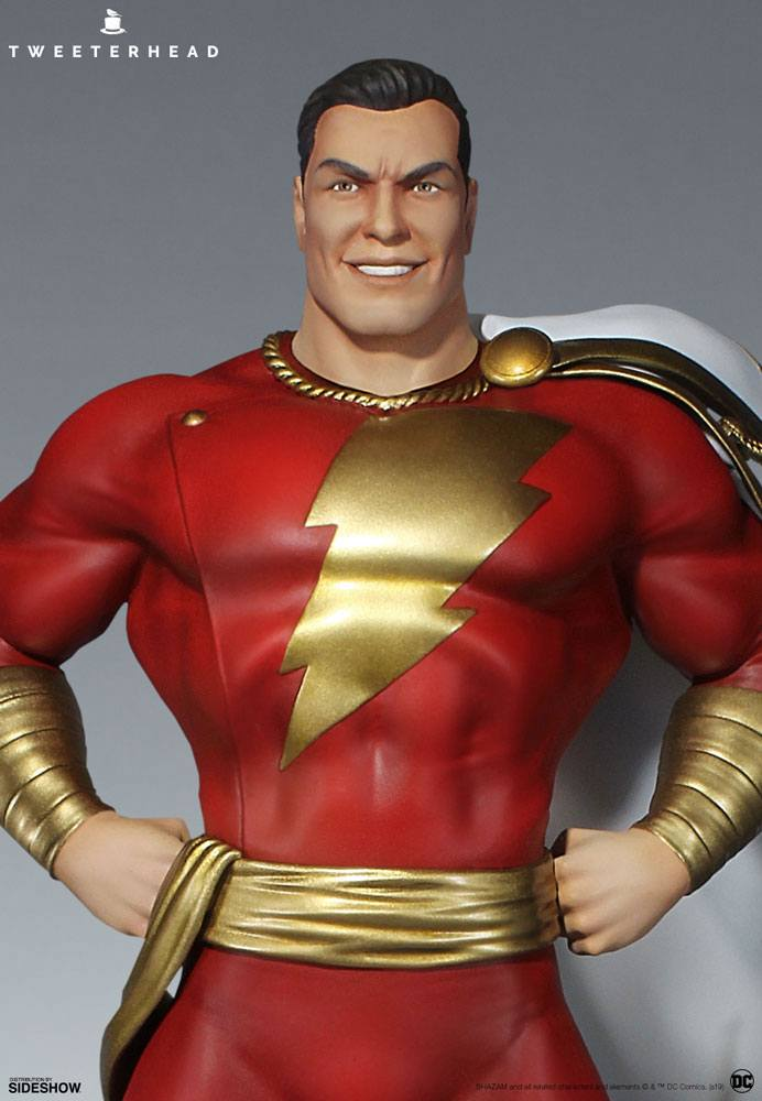 Sideshow Collectibles Tweeterhead DC Comic Super Powers Collection Shazam Maquette